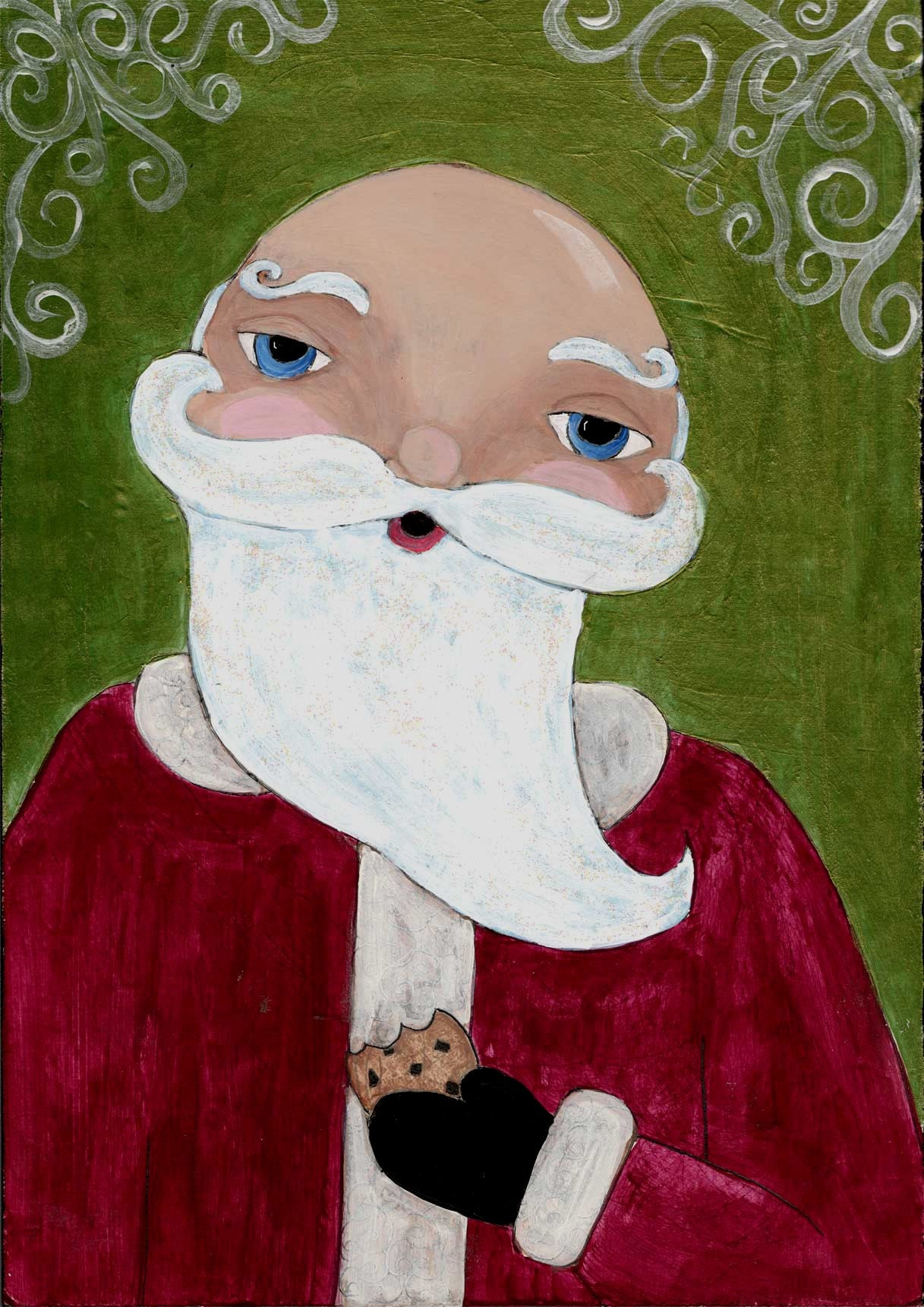 Santa Takes a Cookie Break