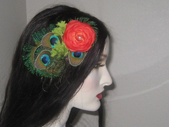 il_fullxfull.50523021.jpg (JPEG Image, 640x480 pixels) :  peacock hair accessories