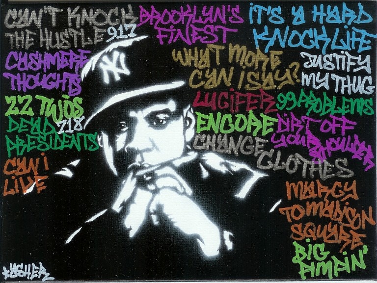 jay z graffiti