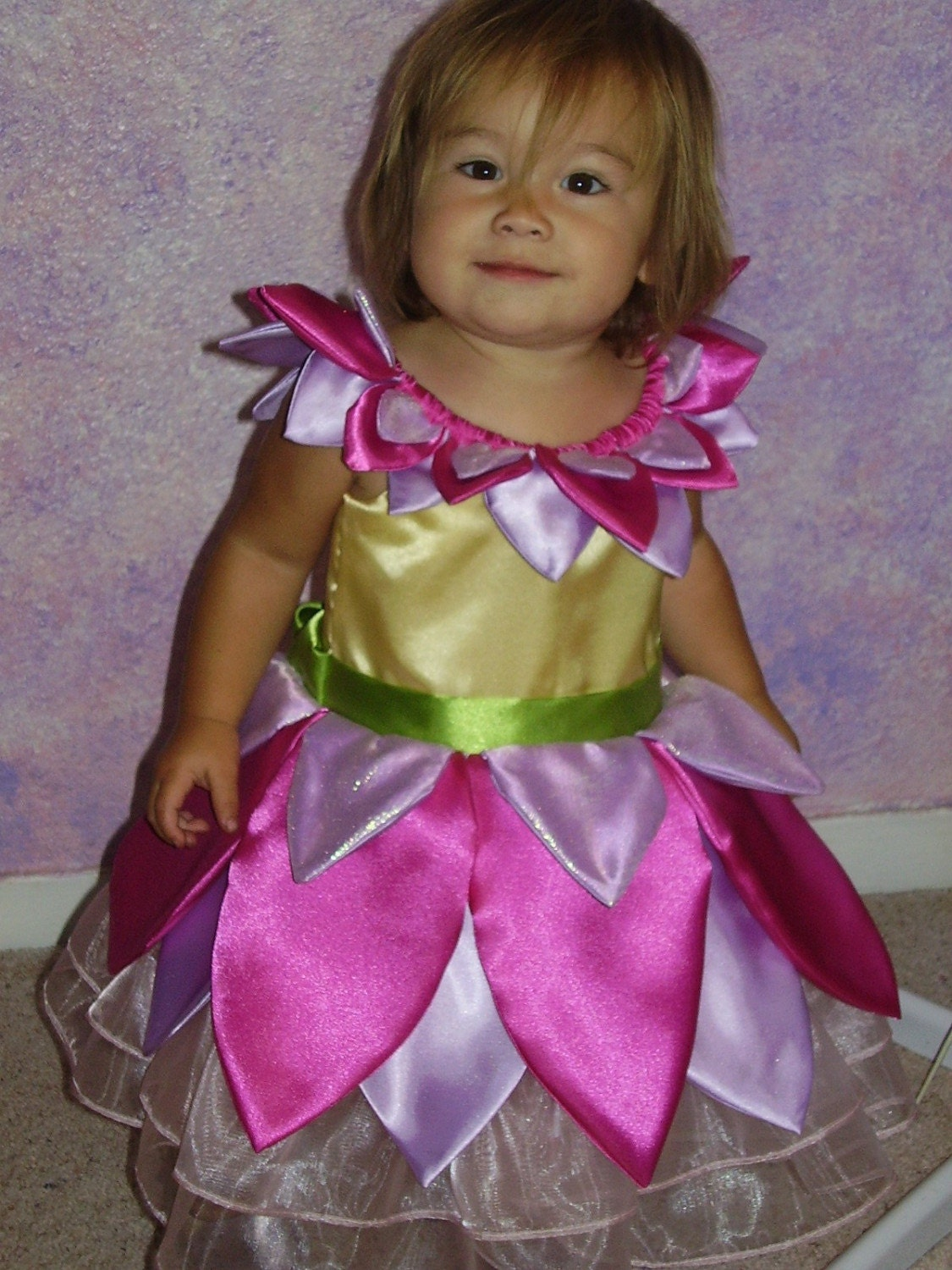 Etsy :: ladymantis :: Custom Made Flower Princess Dress- Infant/Toddler Sizes