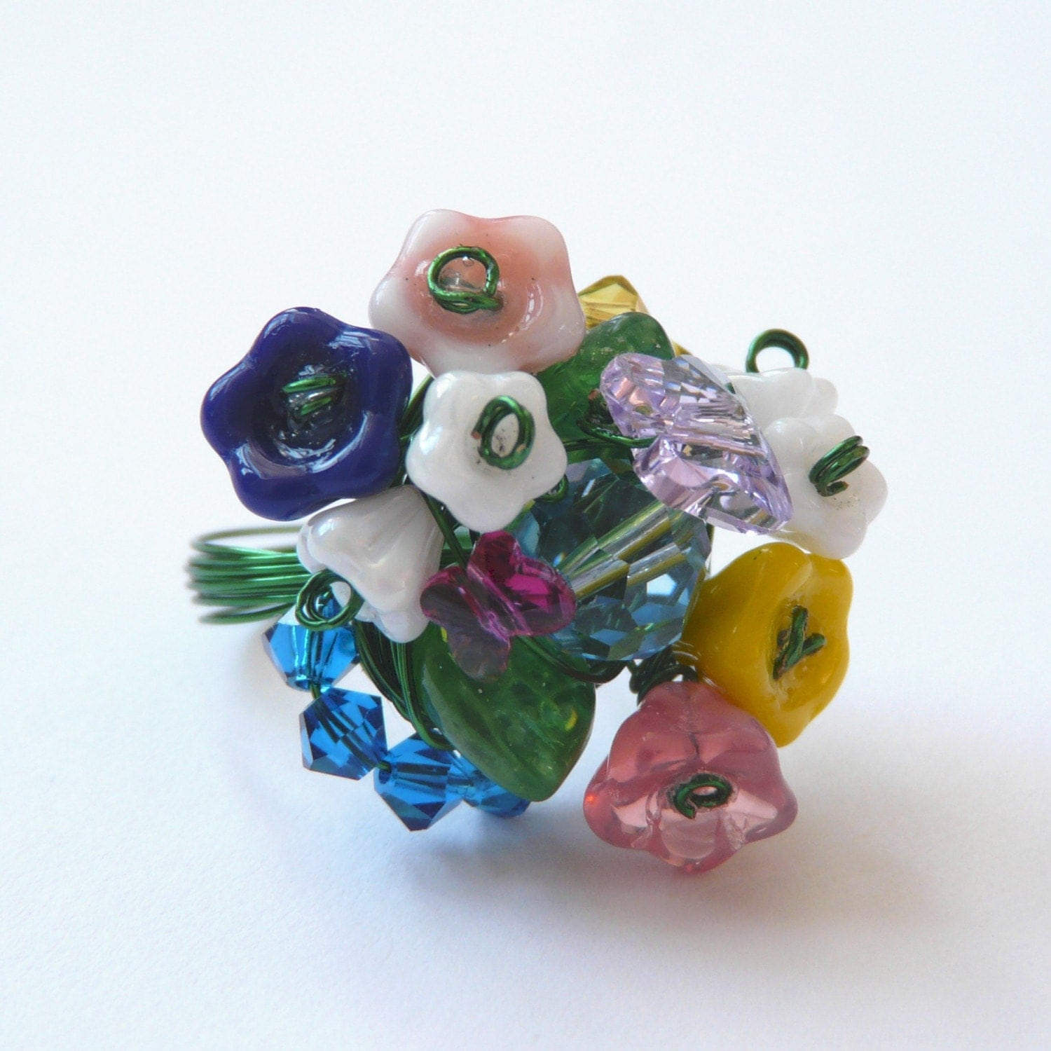 original full bloom bouquet ring