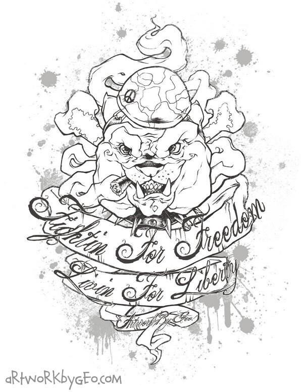 british bulldog tattoos. ulldog tattoos,pitbull
