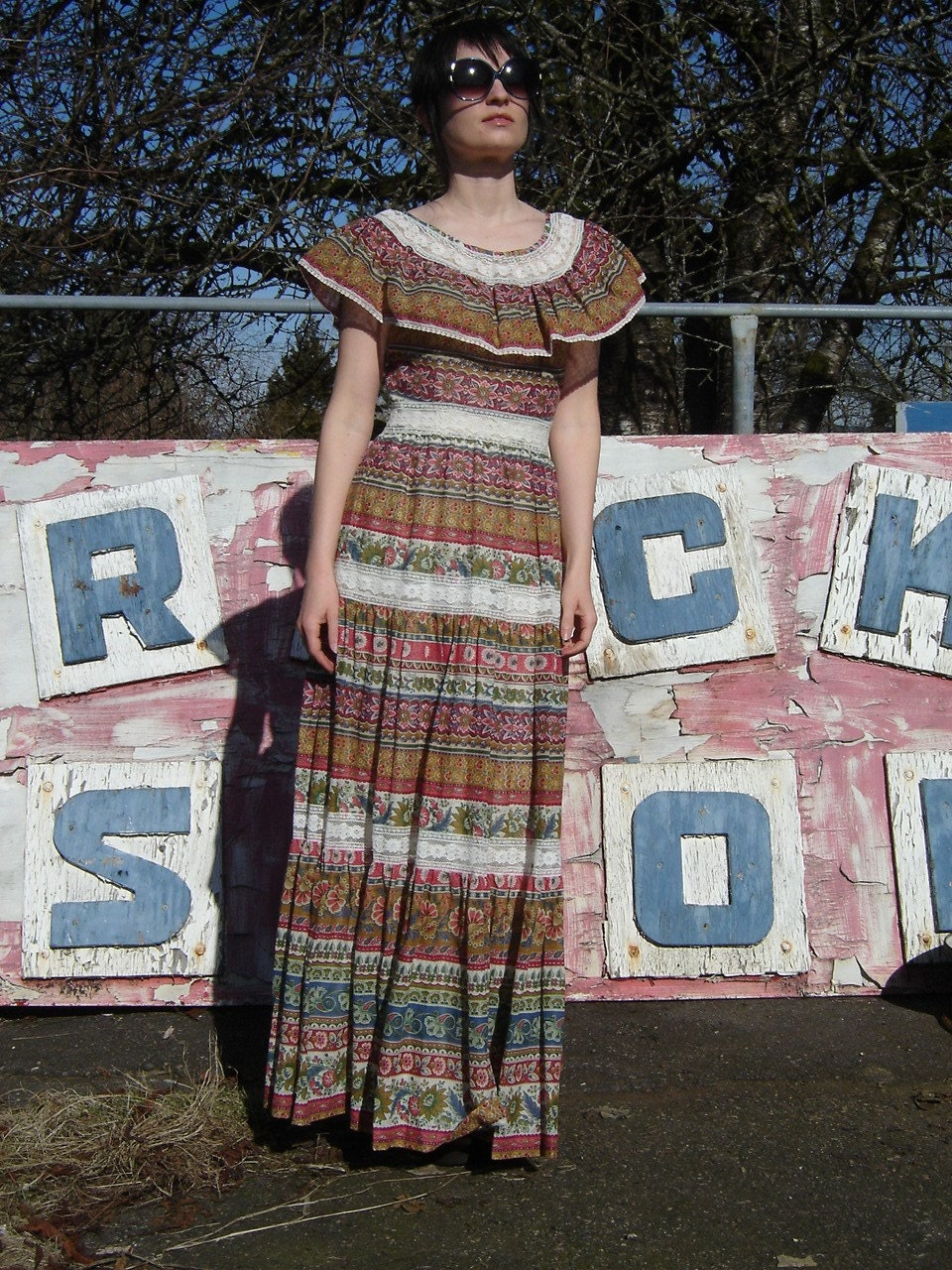 Frida Kahlo MEXICAN LAYER CAKE Dress from DarkStar
