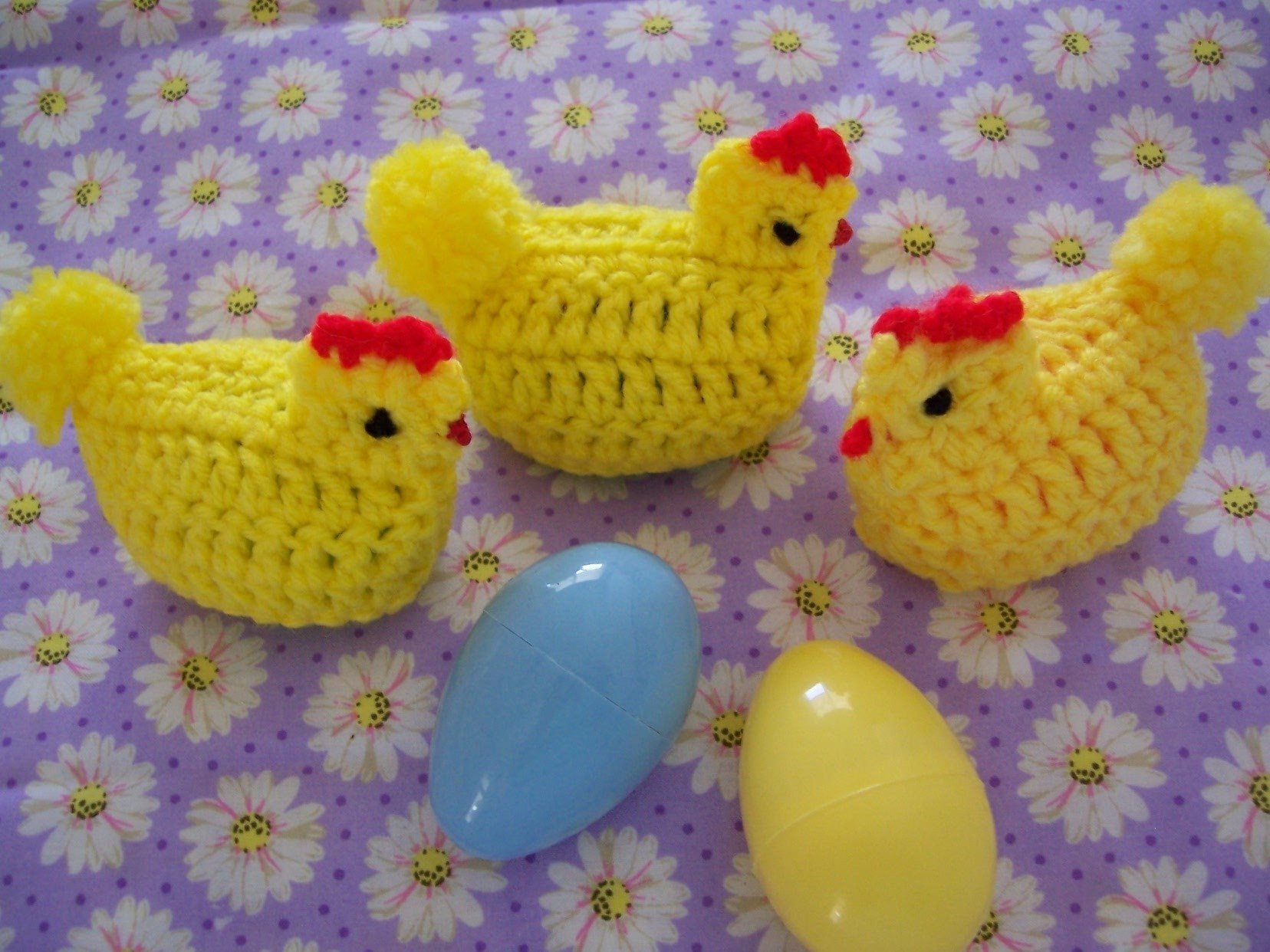 Easter Bunny and Chicks Amigurumi crochet pattern by TigerLilly