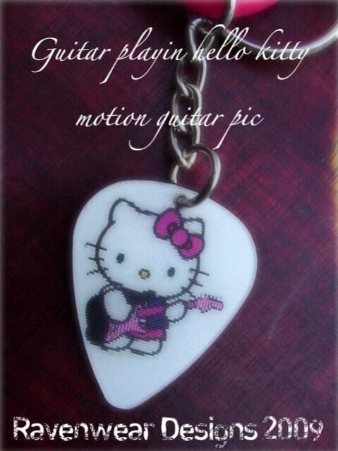 hello kitty, girls guitar,