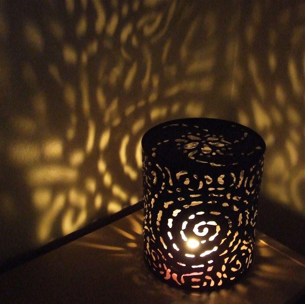 Maman 39 s recup - Lampe avec boite de conserve ...