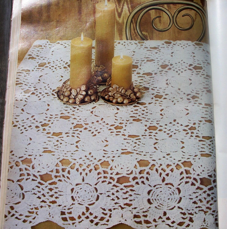 Crochet Round Tablecloth Free Pattern Crochet Club