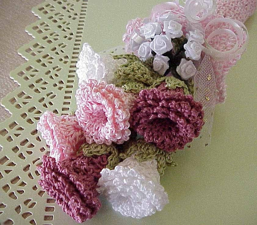 crochet flower patterns roses easy crochet flowers flower patterns ...