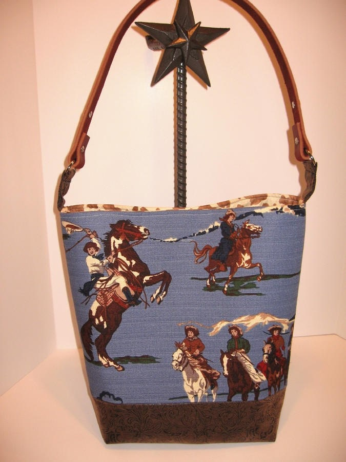 western diaper bag