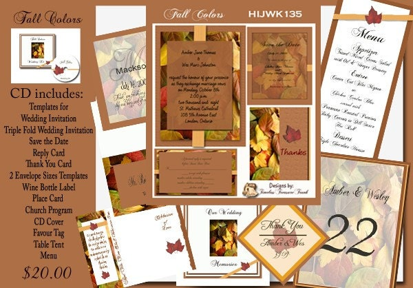 Delux Fall Colors Wedding