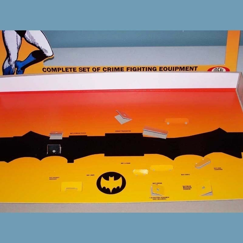 Art Design: 1966 Ideal Batman Utility Belt