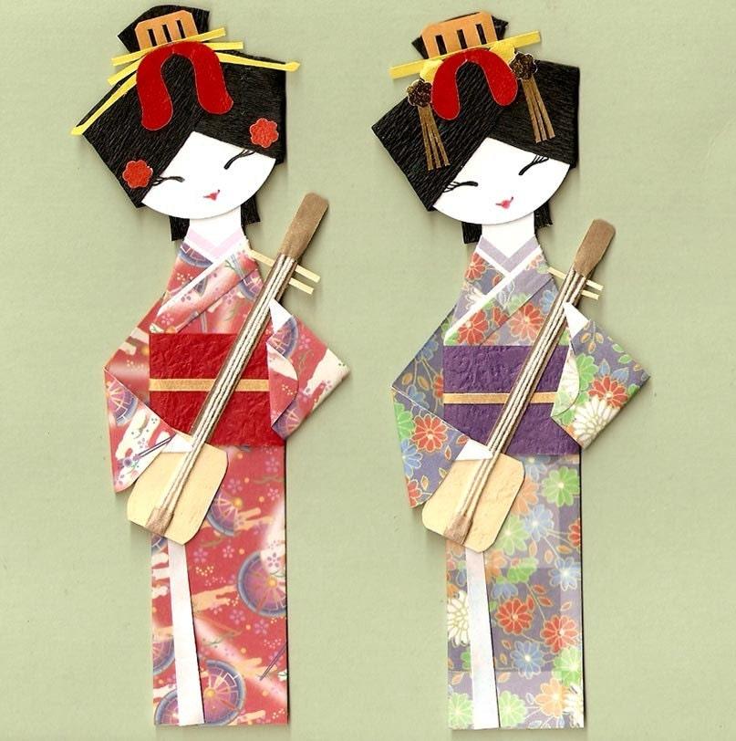 origami kimono doll 28 images washi ningyo traditional