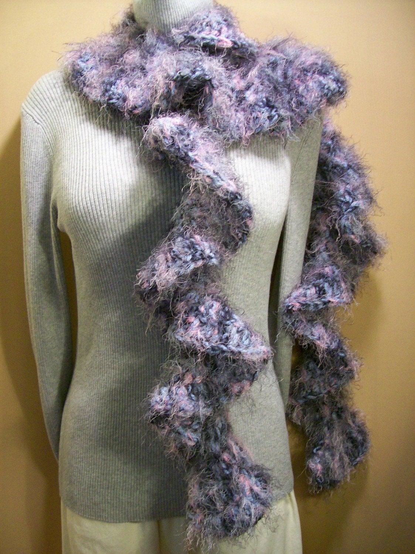 Knitting Pattern For Fun Fur Scarf : CROCHET FUN FUR SCARF PATTERN   Patterns