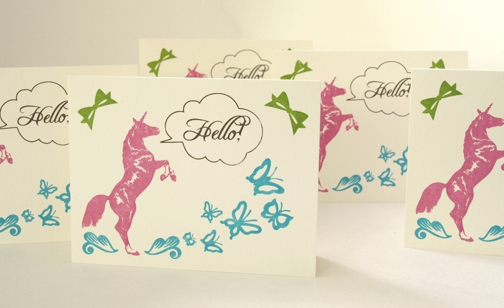 5 HELLO cards