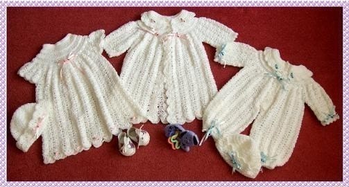 Crochet Baby Patterns Christening Gowns - Justcrochet index.htm