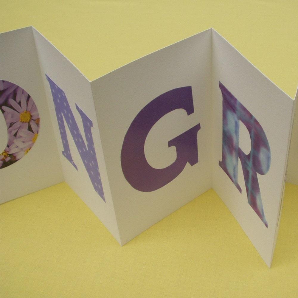Letter Congratulation Invitation