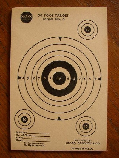 Target practice sheets quotes