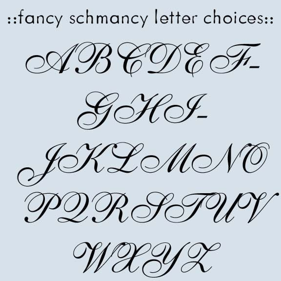 Fletexofich fancy lettering fonts