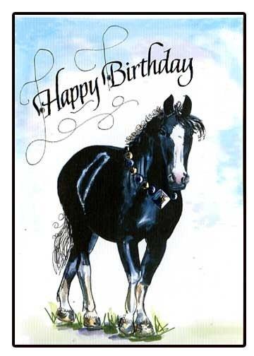 Birthday random pinterest black horses and happy birthday birthday bookmarktalkfo Images