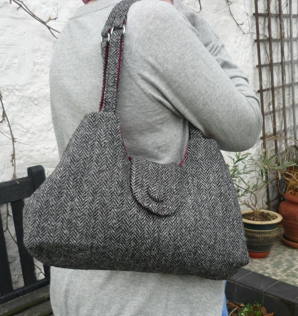 Cute as a Button Bag from Breagha on Etsy
