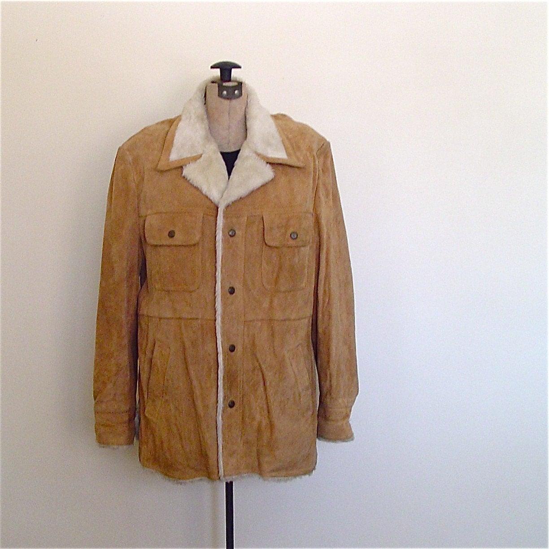 Vintage Sheepskin Coats For Men