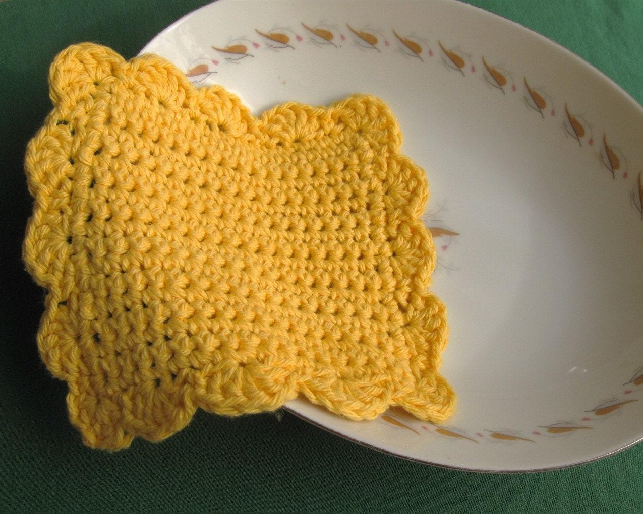 Crochet Dish Rags Patterns Crochet Patterns