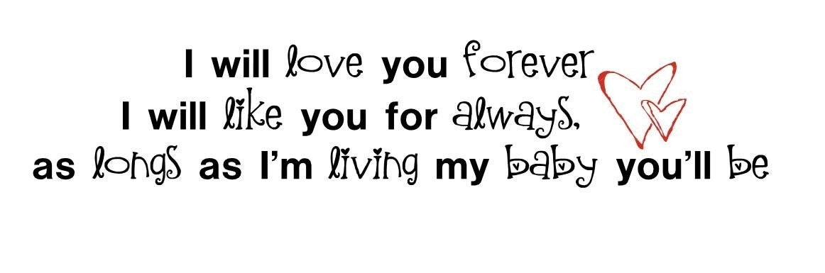 i love you baby forever. i love u aby forever. i love