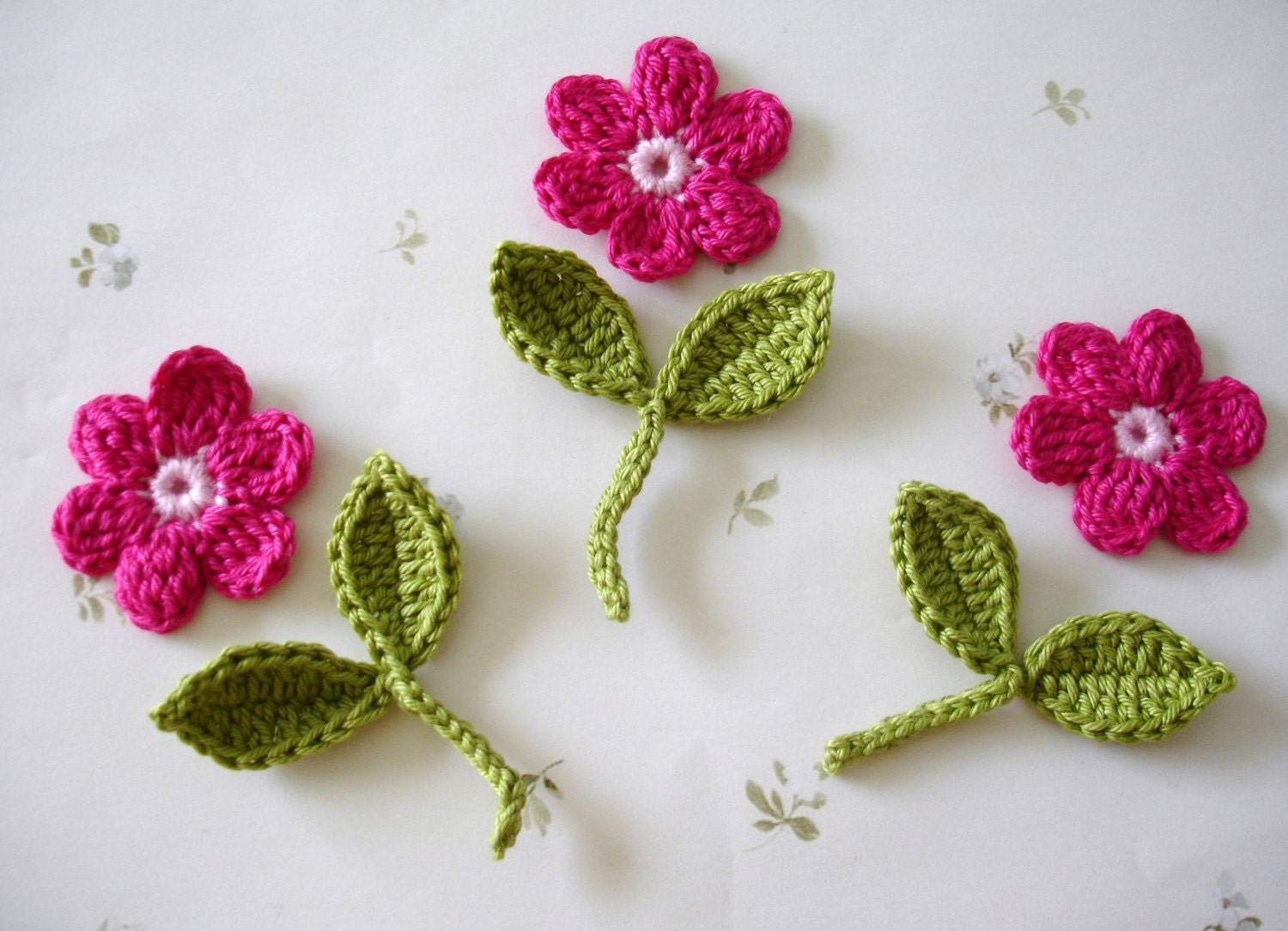 Crochet A Flower : CROCHET CROCHETED FLOWER - Crochet - Learn How to Crochet