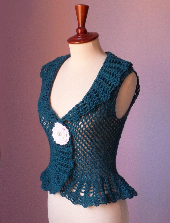 BOLERO CROCHETED FREE PATTERN SHRUG Crochet Patterns