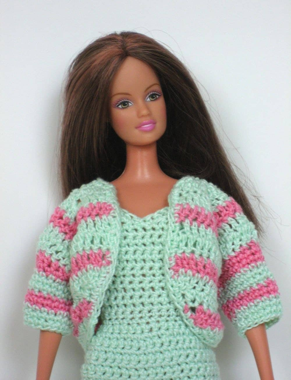 BARBIE CROCHET DOLL FASHION FREE - Crochet   Learn How to Crochet