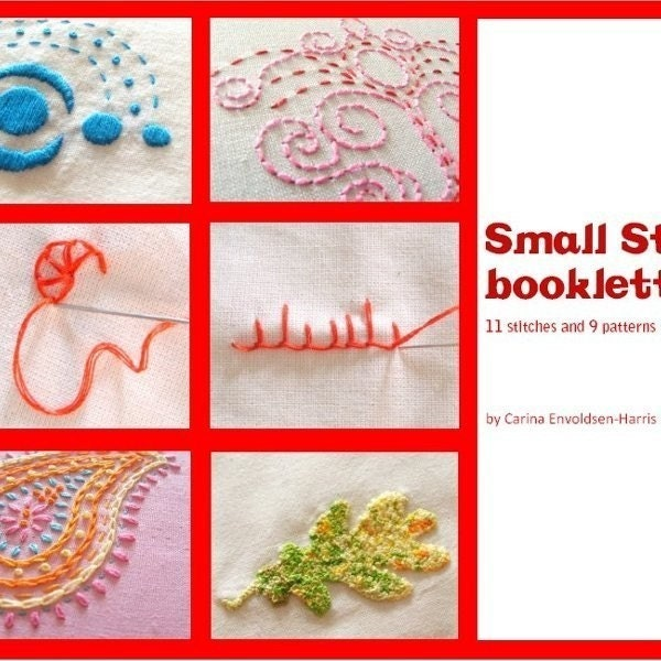 How to embroidery stitches « origami