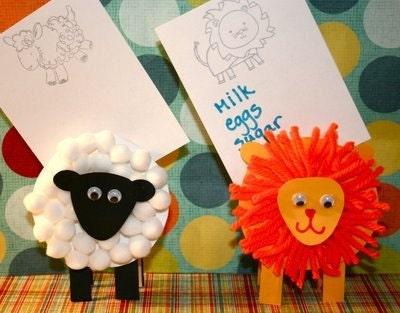 Preschool Craft Ideas Letter on Crafts Lion And Lamb Child Craftslion And Lamb Preschool Ideas