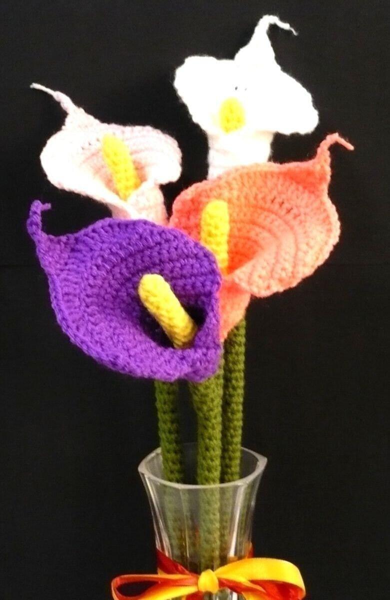 Crochet Flower Bouquet Patterns : CROCHET FLOWER BOUQUET PATTERNS - Crochet ? Learn How to ...