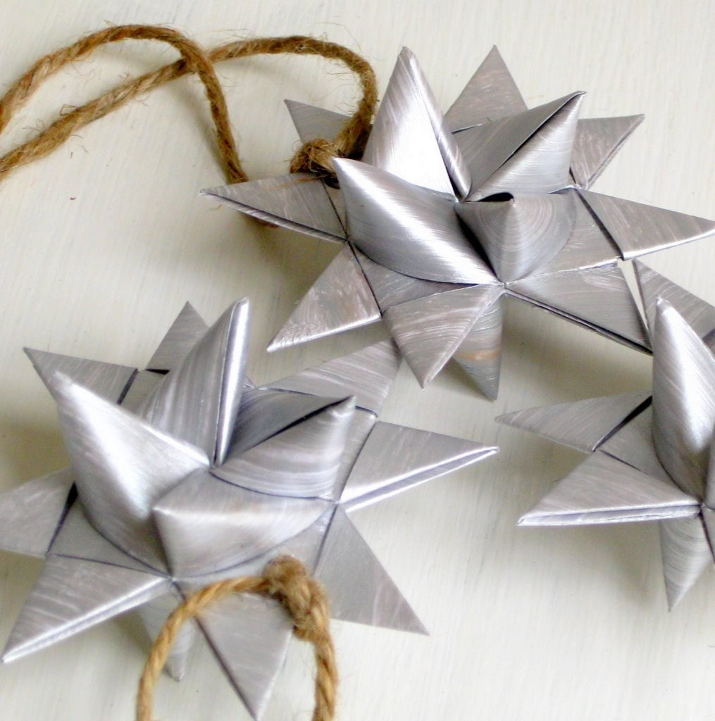 how to make origami stars for christmas