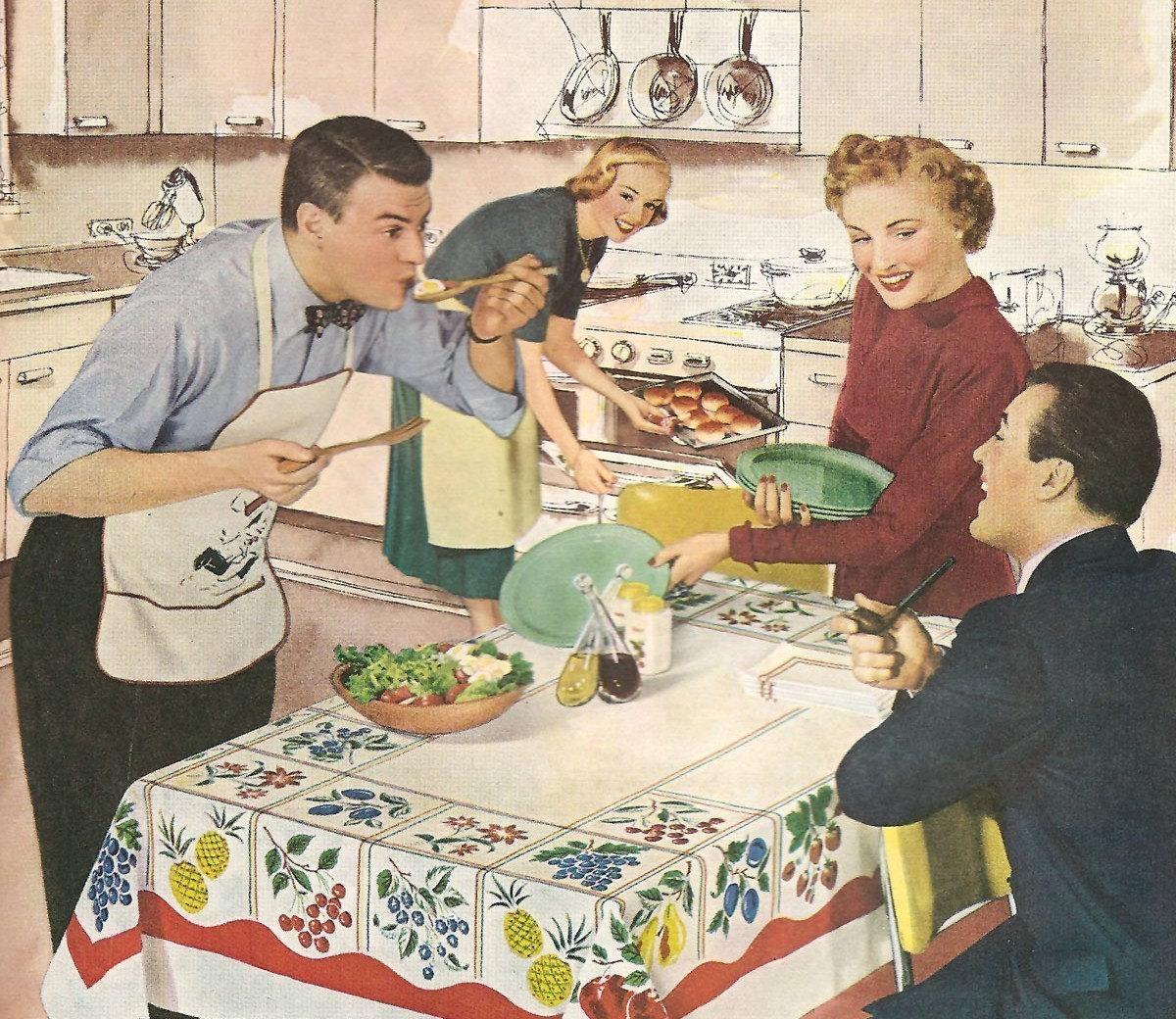 Vintage Dinner 54