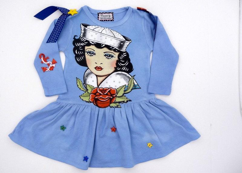 Sailor Beauty Tattoo Long Sleeve