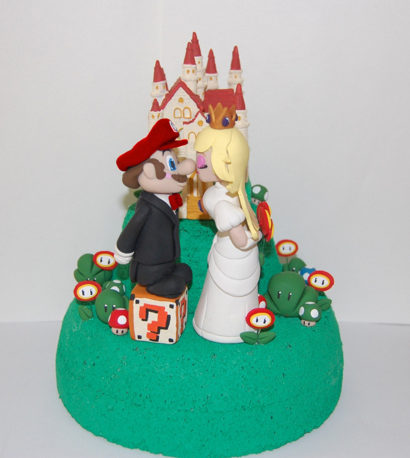 mario wedding cake toppers