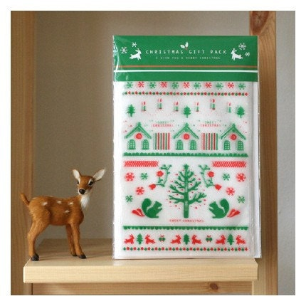 10 christmas gift pack - 150 x 200mm