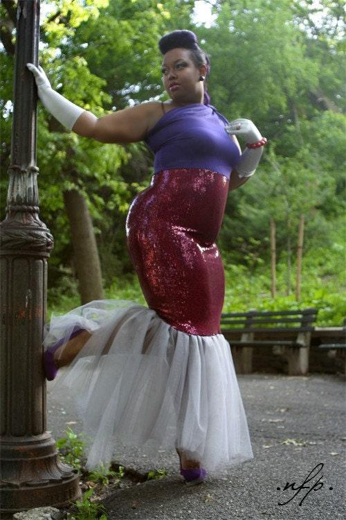 Mermaid Style dress by stylesbyshimere
