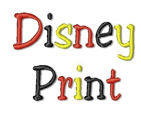 FREE DISNEY PES EMBROIDERY DESIGN