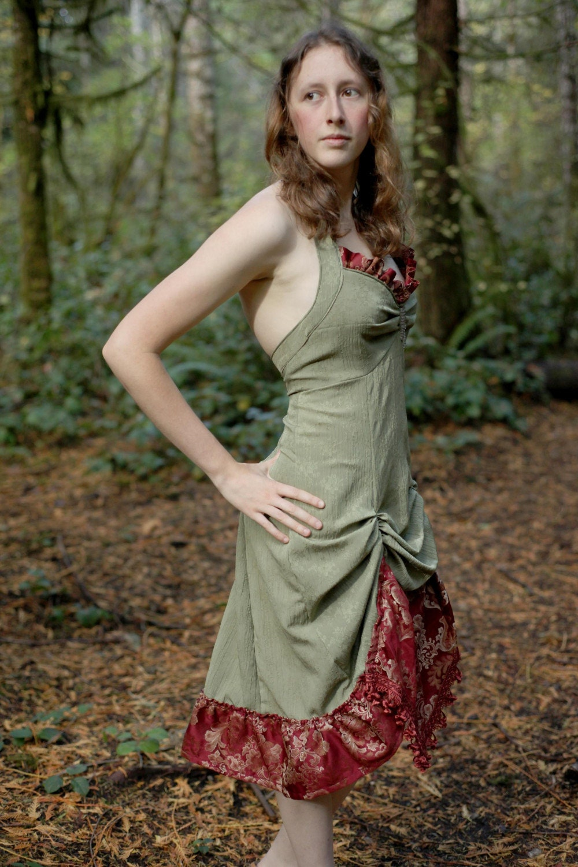 Strawberry Fields Formal Dress Small Medium