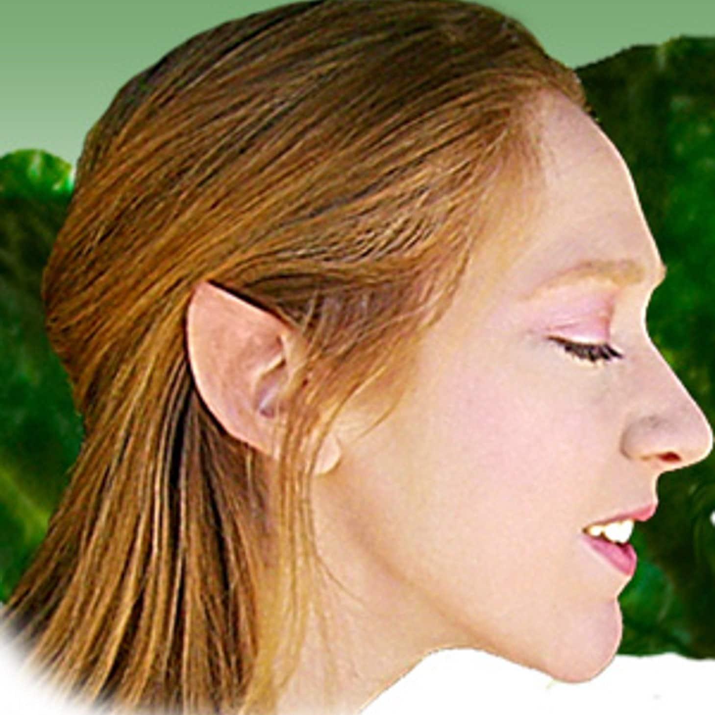 Как сделать свои уши как у эльфа
