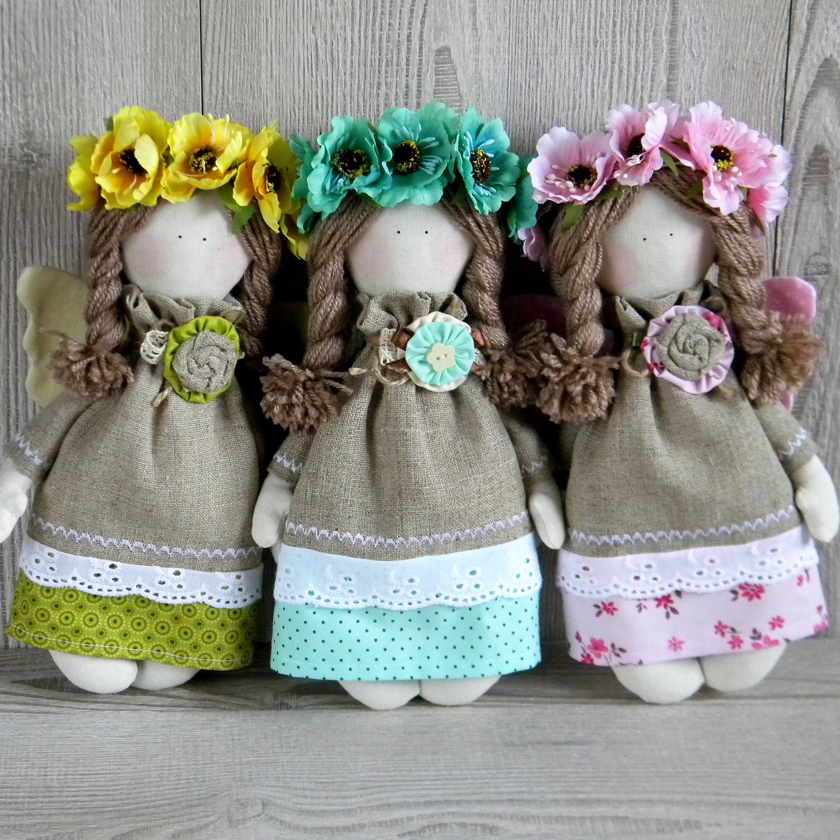 Куклы из мешковины своими руками мастер класс