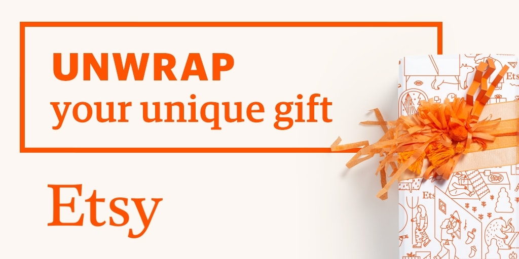 Etsy Unwrap Your Unique Gift